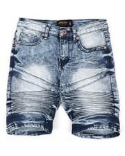 Boys - Denim Stretch Shorts (8-20)-2352314