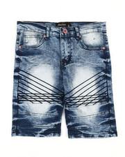 Boys - Denim Stretch Shorts (8-20)-2352320
