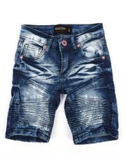 Boys - Denim Stretch Shorts (4-7)-2352272