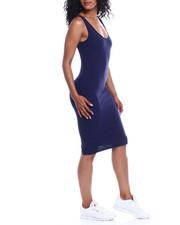 Fashion Lab - Scoop Neck Tank Dress-2354021