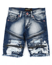 Boys - Denim Stretch Shorts (4-7)-2352343