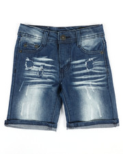 Buffalo - Rip & Repair Denim Shorts (4-7)-2351420