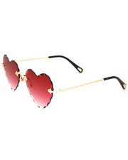 DRJ Sunglasses Shoppe - Heart Shaped Gradient Sunglasses-2346329