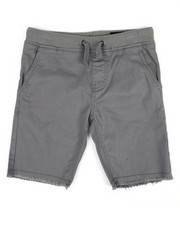 Buffalo - Twill Shorts W/ Raw Edge Hem (4-7)-2351372