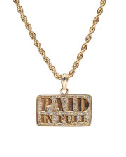 "Men - Paid In Full 24"" Chain Necklace-2348564"