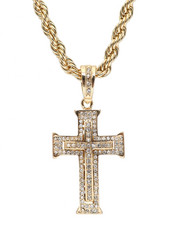 """Accessories - Cross 20"""" Chain Necklace-2348558"""