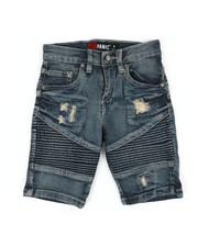 Boys - Moto Denim Shorts (4-7)-2353079