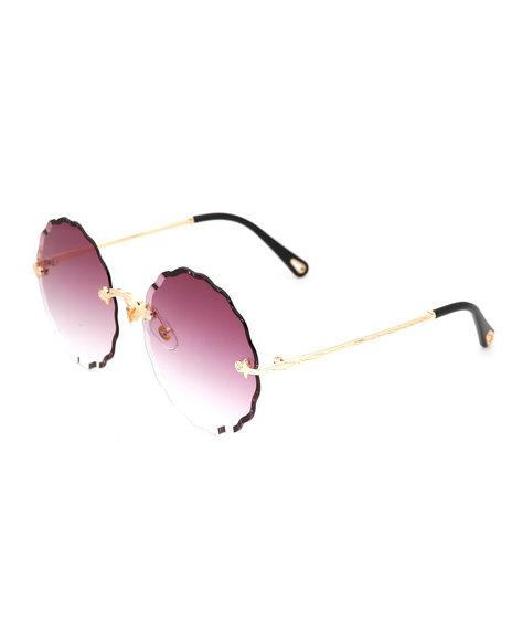 Fashion Lab - Round Gradient Sunglasses