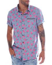 Union Bay - Frankie Flamingo Chambray Shirt-2353658