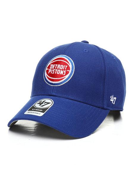 '47 - Detroit Pistons MVP Strapback Hat