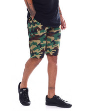 Buyers Picks - Twill Belted Camo Short-2354305
