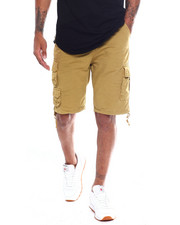 Buyers Picks - Garment Dyed Belted Extended Tab Cargo Short-2354809