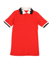 Tops - Solid Polo Shirt (8-20)-2351522
