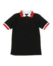 Tops - Solid Polo Shirt (8-20)-2351527