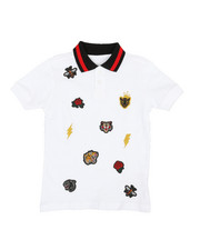 Polos - Embroidered Polo Knit Shirt (4-7)-2352660