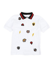 Polos - Embroidered Polo Knit Shirt (8-20)-2352644