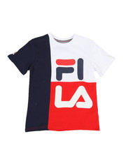Fila - Stacked Color Blocked Tee (8-20)-2352370
