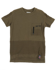 Phat Farm - Pintuck Zipper Front Pocket T-Shirt (4-7)-2353157