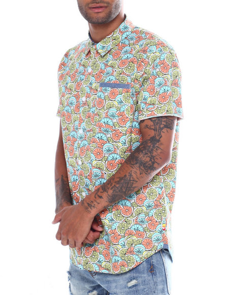 Union Bay - Fletcher Limeade SS Poplin shirt
