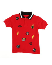 Polos - Embroidered Polo Knit Shirt (4-7)-2352626