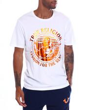 True Religion - STRIPE FADE BUDDHA SS CREW Tee-2354186