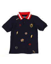 Polos - Embroidered Polo Knit Shirt (8-20)-2352678