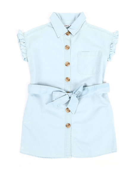 Kensie Girl - Riley Shirt Dress (4-6X)