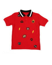 Polos - Embroidered Polo Knit Shirt (8-20)-2352634