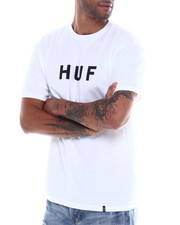 HUF - ESSENTIALS OG LOGO TEE-2354320