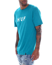 HUF - ESSENTIALS OG LOGO TEE-2354326