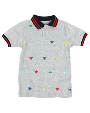 Polos - Embroidered Polo Knit Shirt (4-7)-2352607