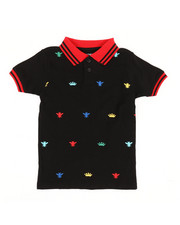 Polos - Embroidered Polo Knit Shirt (4-7)-2352568