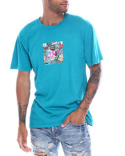 HUF - STICKER WARS BOX TEE-2354766