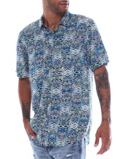 Union Bay - Bradley 80s Blue Line  Rayon SS  Shirt-2353663