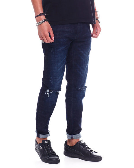 Copper Rivet - Slit knee Jean