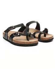 Mario Lopez - Double Strap Sandals-2349799