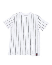 Tops - Printed Stripe Crew Neck T-Shirt (8-20)-2353100