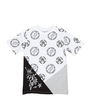 Boys - Jersey Tee W/ All Over Print (8-20)-2354379