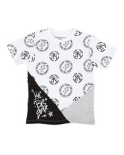 Boys - Jersey Tee W/ All Over Print (4-7)-2354374