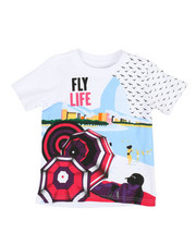 Born Fly - Printed Tee (2T-4T)-2353724