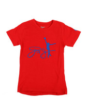 Boys - Cotton Tee W/ Raised HD Rubber Detail (8-20)-2353889