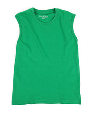 Tops - Solid Muscle T-Shirt (8-20)-2353818