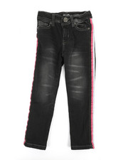 Girls - Jeans w/ Side Taping (4-6X)-2349471