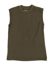 Tops - Solid Muscle T-Shirt (8-20)-2355679