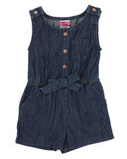 Rompers - Chambray Romper (4-6X)-2345934