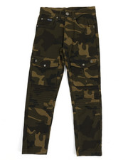 Pants - Camoflauge Cargo Moto Twill Pants (8-20)-2348879