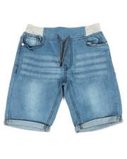 SMITH'S AMERICAN - Roll Up Hem Denim Shorts (8-20)-2355107
