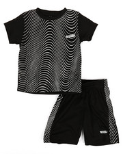 HIND - 2Pc Printed Cut & Sew Top & Shorts Set (2T-4T)-2350780