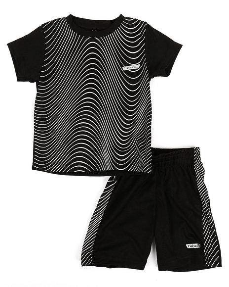 HIND - 2Pc Printed Cut & Sew Top & Shorts Set (2T-4T)