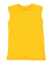 Tops - Solid Muscle T-Shirt (8-20)-2355659